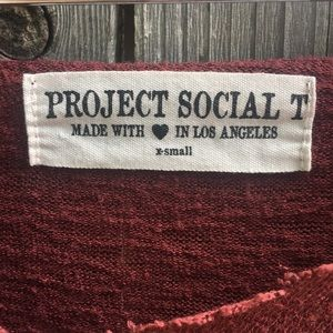 Project Social T Knit T-Shirt